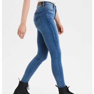 American Eagle Super High Waisted Jegging
